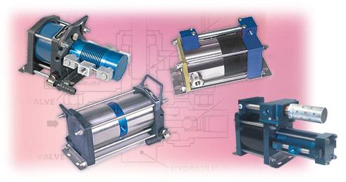 Air-Driven-Air Pressure-Amplifiers